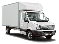 Luton Box Van TailLift Hire