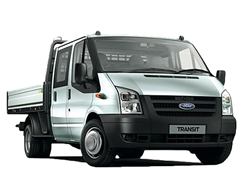 dropside van hire