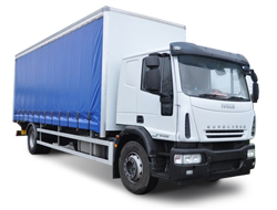 7.5 tonne curtain side